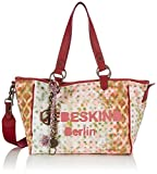 Liebeskind Berlin Damen Mika Shopper, Pink (red), 37x39x19 cm