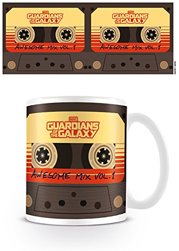 Guardians Of The Galaxy Awesome Mix Volume 1 Boxed Gift Mug Cup Movie Official