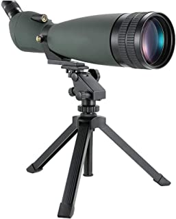 30-90x90 HD Spotting Scope with Night Vision with Tripod and Phone Adapter and Carry Case High Definition BAK4 Prism FMC L...