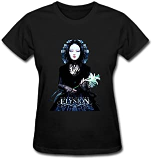 Kittyer Women's Elysion Silent Scream Design Cotton T Shirt XXL