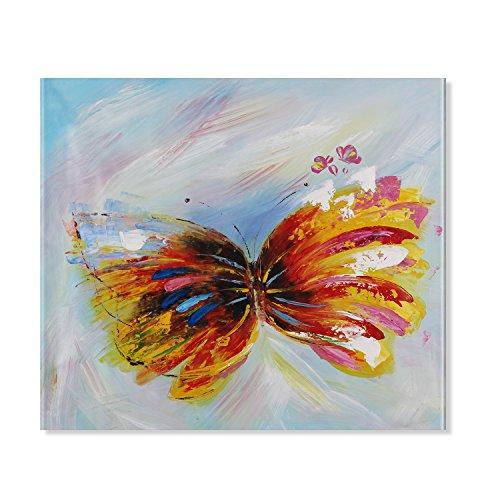 Raybre Art 100% dipinto a mano moderno astratto dipinti lovely Anmails Artwork olio su tela da parete per soggiorno casa decorazione da parete decorazione 50,8x 61cm, senza cornice
