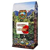 Java Planet, Organic Coffee Beans, Colombian Single Origin, Low Acid, Gourmet Medium Dark Roast of Arabica Whole Bean Coffee, Certified Organic, Rainforest Alliance Certified, 1LB Bag