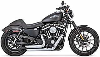 Vertidos Marmitte Shortshots Staggered Vance Hines & Cromo Harley Davidson Sportster XL x 14-UP