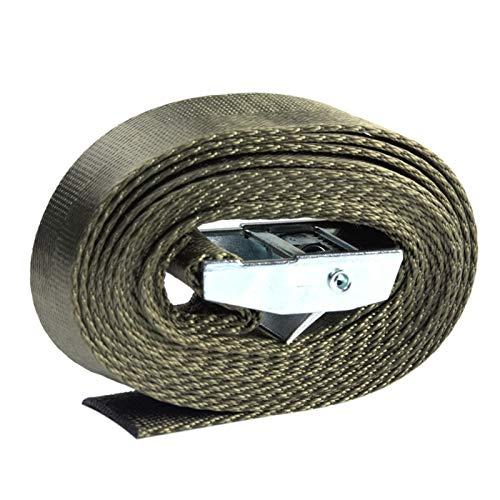 MOVKZACV Pack Cam Zurrgurte aus Nylon, robuste Zurrgurte, verstellbare Nockenschnalle, Spanngurte für Ladung, LKW, Gepäck