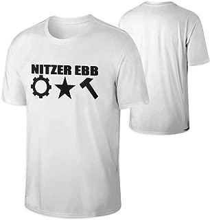 HUANGSHANGCENTAL Nitzer Ebb Mens Nitzer Ebb T Shirts