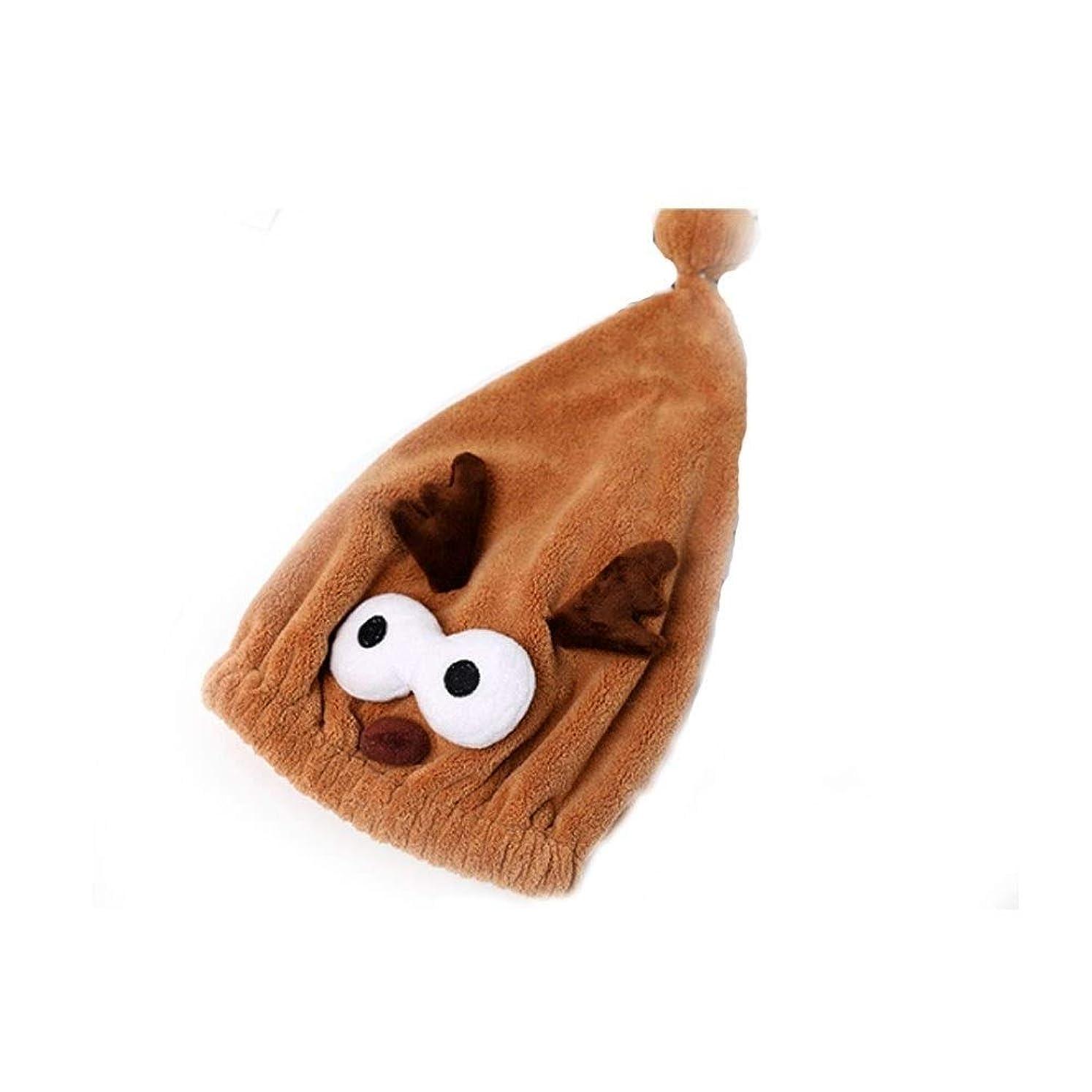 複雑大工慎重にSMXGF シャワーキャップ、女性の女性のためのドライシャワーキャップデラックスシャワーキャップを、すべての髪の長さや太さ、再利用可能なシャワー。 (Color : Brown)