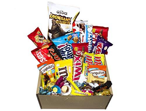 Caja Regalo Chocolatinas, gran variado de chocolatinas, ideal para regalos y cumpleaños