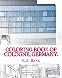 Coloring Book of Cologne, Germany.