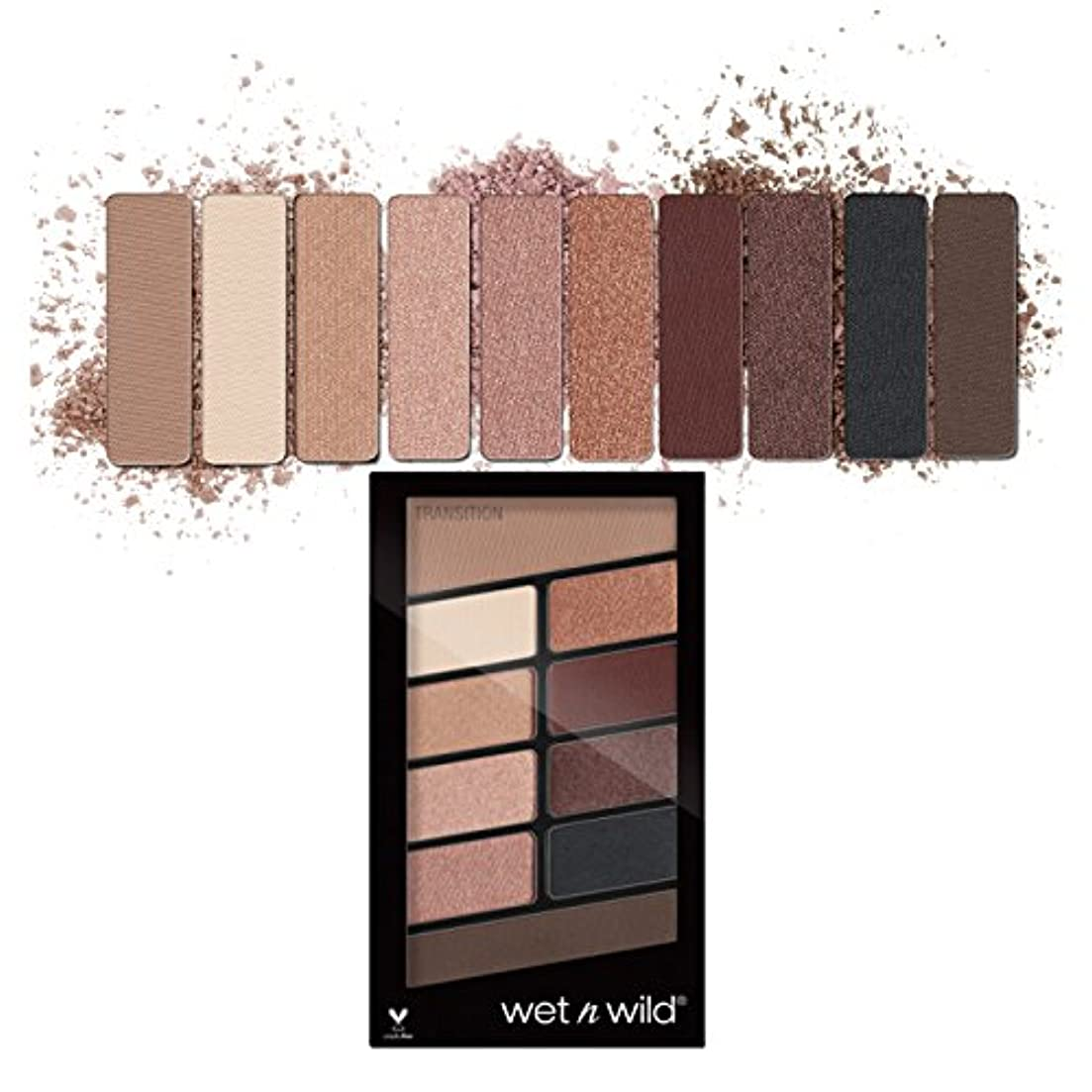 インシュレータ露小包(3 Pack) WET N WILD Color Icon Eyeshadow 10 Pan Palette - Nude Awakening (並行輸入品)