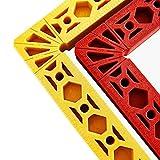 Luyipingqiwnd Clips de fijación de la abrazadera de ángulo recto de 90 grados Imagen de la esquina de la esquina de la esquina de la esquina de la esquina de las herramientas de la placa de empalme en