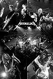 Metallica - Live Maxi-Poster der Grösse 61 x 91cm + 1