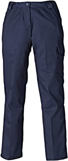 Dickies Womens Loose Fit Multi Pocket Workwear Trousers Navy