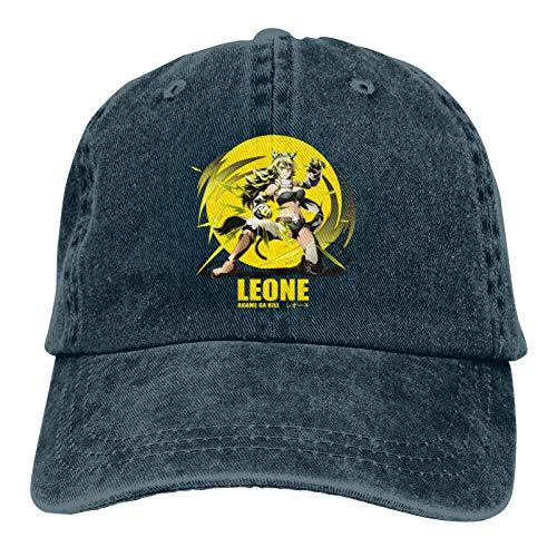 KJAHS Gorras de béisbol unisex Leone Akame ga Kill Vintage Algodón lavado envejecido Sombreros