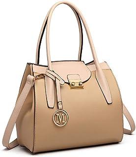 مس لولو حقيبة للنساء-كاكي - حقائب الكتف