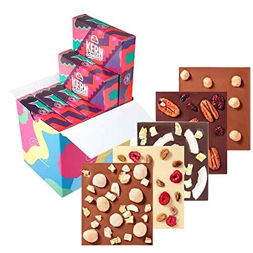 KERNschmelze Nuss Schokolade Geschenk Set | Für meinen Freund | Verschiedene Sorten (5 x 100g Tafel)