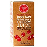Cherry Bay Orchards - 100% Montmorency Tart Cherry Juice   59 oz bag in a box   Not from concentrate   All Natural...