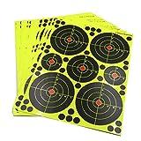 perfeclan 10pcs Bogenschießen Zielpapier Zielscheibe Schießscheibe