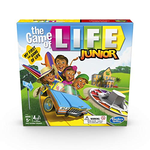 Hasbro Gaming The Game of Life Junior Board Game for Kids From Age 5, Game...