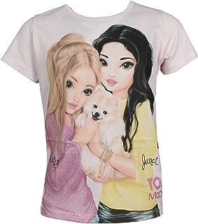 Top Model Niña T-Shirt, Camiseta, Rosa