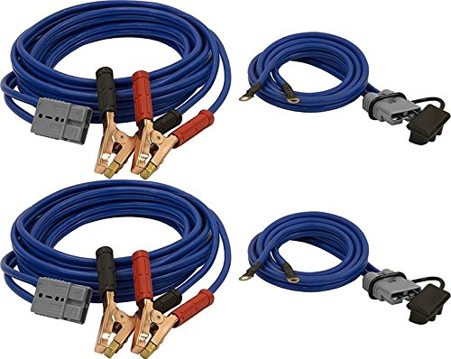 Lowest Price! Two Sets of Buyers Products 5601025-x2, 22' Booster, Jumper, Starter Cables for Wrecke...