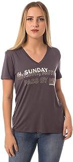 T-Shirt Osmoze Fonte Foil Cinza