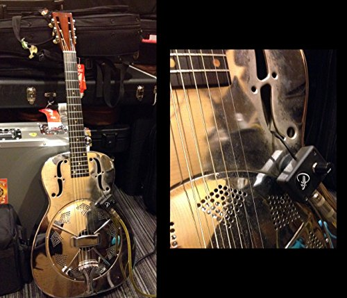 National Resonator Guitar Pickup with Flexible Micro-Gooseneck by Myers Pickups