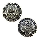 Yes No Challenge Coin Souvenir Commemorative Coins Collection