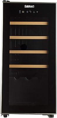 Cuisinart CWC-1500CU 15-Bottle Private Reserve Compressor Wine Cellar, Black