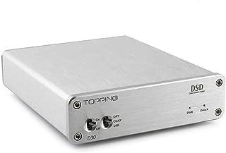 TOPPING D30 DSD Audio Decoder USB Coaxial Optical Fiber XMOS CS4398 24 bits 192KHz admite USB, Coaxial y fibra óptica