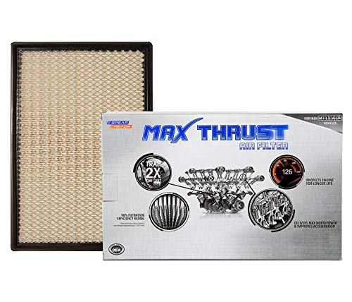 Spearhead Max Thrust Performance Engine Air Filter For All Mileage Vehicles - Increases Power & Improves Acceleration (MT-401)