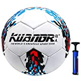 Senston Pallone Calcio Taglia 5 Adulti Bambini Palloni da Allenamento Pallone da Calcio...