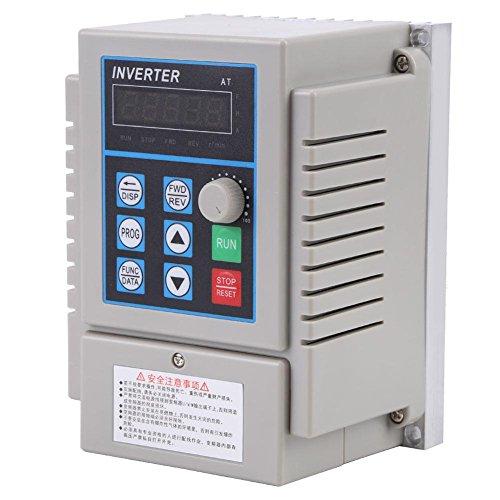 Frequenzumrichter Professioneller VFD AC 220V 0.75kW Frequenzumrichter Inverter Drehzahlregler
