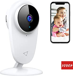 Victure 1080P FHD Baby Monitor Pet Camera 2.4G Wireless Indoor Home Security Camera with..