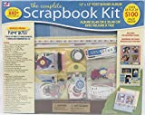 The Complete Scrapbook Kit, 12x12 Post Bound Album and Embelishments