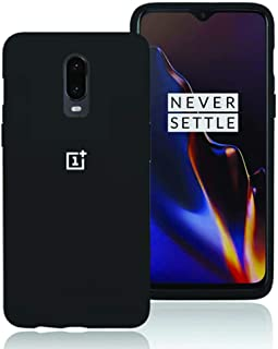 [Goalada] Oneplus 6T case, Liquid Silicone Gel Rubber case, Soft Microfiber Cloth Phone Cover, 360 Full Body Protection Shockproof Case, Compatible with OnePlus 6T