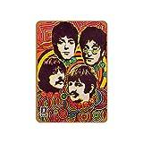 No Branded Letrero de metal para decoración de pared, diseño de la tienda de música de los Beatles de 1968