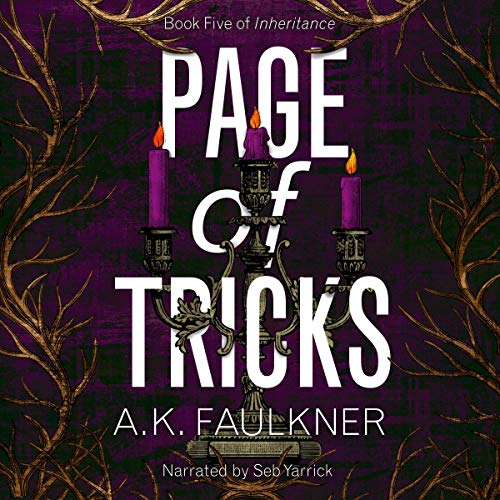 Page of Tricks Audiobook By AK Faulkner cover art