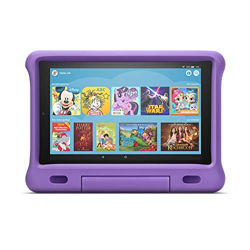 Fire HD 10 Kids Edition-Tablet | 10,1 Zoll, 1080p Full HD-Display, 32 GB, violette kindgerechte Hülle