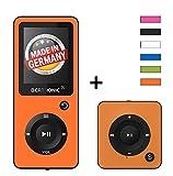 BERTRONIC Royal BC02 und BC05 MP3-Player Bis 100 Stunden Wiedergabe Farbdisplay Radio | Portabler Player | Audio-Player für Sport mit Micro SD-Kartenslot