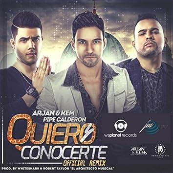 Quiero Conocerte (Remix)