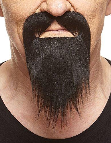 Mustaches Schwarzer Ducktailr fälschen, selbstklebend Bart