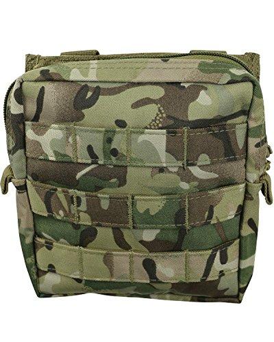 armée Combat militaire MOLLE Voyage utilitaire Surplus Ceinture en toile Sac pochette BTP Camo, camouflage