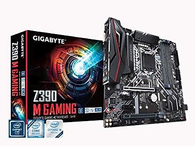 GIGABYTE Z390 M Gaming (Intel LGA1151/Z390/Micro ATX/M.2/Realtek ALC892/Intel GbE LAN/HDMI/Gaming Motherboard)