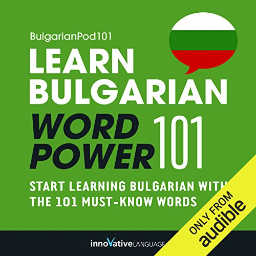 Learn Bulgarian - Word Power 101 audiobook cover art
