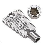 Romalon WP842177 Refrigerator Door Key Pentagon Shape Part Replacement For Frigidaire Whirlpool Kenmore Replaces PS1991481 AP4071414 PS2061565 AP2113733 06599905 08037402 12849(Metal)