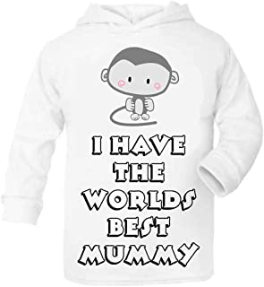 can be Personalised 4 Months Old Today Baby//Toddler Hoodie Size 3-6 Months White