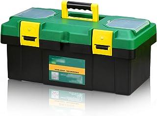 Xuan Yuan Tool Storage Box - Home Repair Tool Suitcase Multi-Function car Thickening Items Storage Box Double Storage Box Tool Boxes (Size : 40X21X18.5cm)