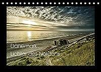 Daenemark - Lichter des Nordens (Tischkalender 2022 DIN A5 quer): Lichtstimmungen an Juetlands Nordseekueste (Monatskalender, 14 Seiten )