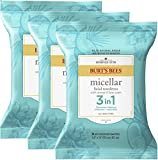 Burts Bees Micellar Makeup Removing Towelettes with Coconut & Lotus Water, 90 Count (Package May Vary)