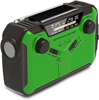 GJHK Énergie Portable Multifonctionnelle SOS Couple De Poche SOS Solaire Génération De Puissance À Manivelle À La Main WB ...